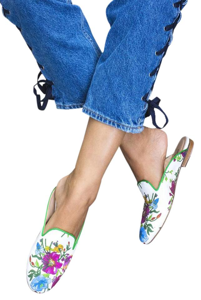 Free Slippers People Multi Floral Great Slippers Free - Provence Mules/Slides e78a83