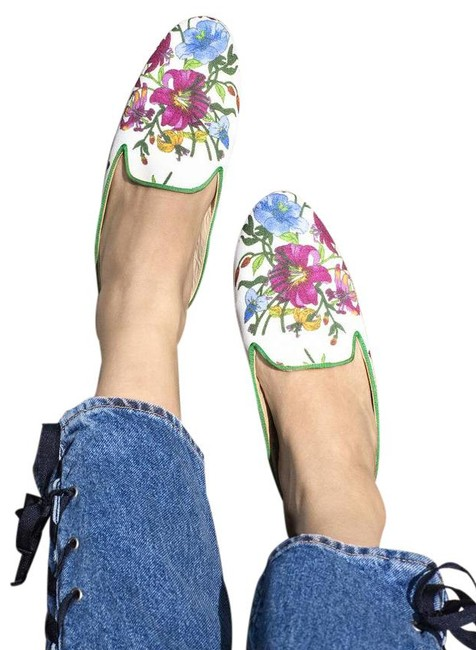 Item - Multi Floral Great Slippers - Provence Mules/Slides Size US 10 Regular (M, B)