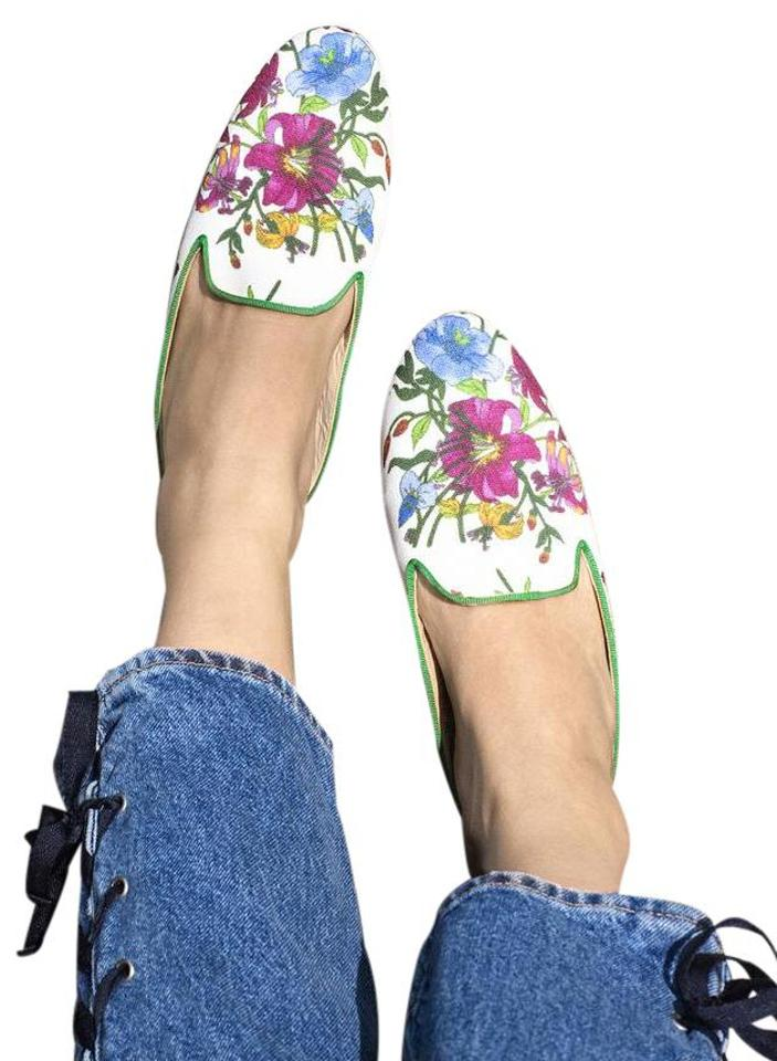 Free People Multi Floral Provence Great Slippers - Provence Floral Mules/Slides 232451