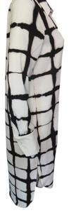 white/black Maxi Dress by Adam Lippes