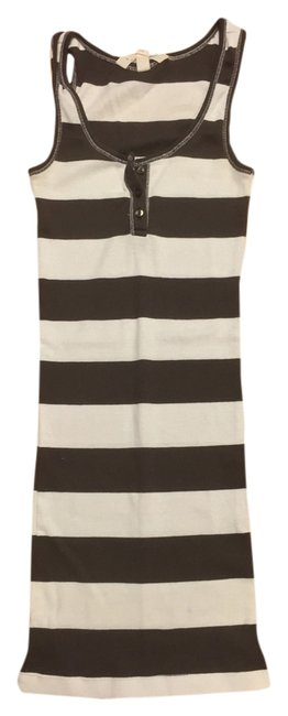 Item - Brown and White Tank Top/Cami Size 0 (XS)