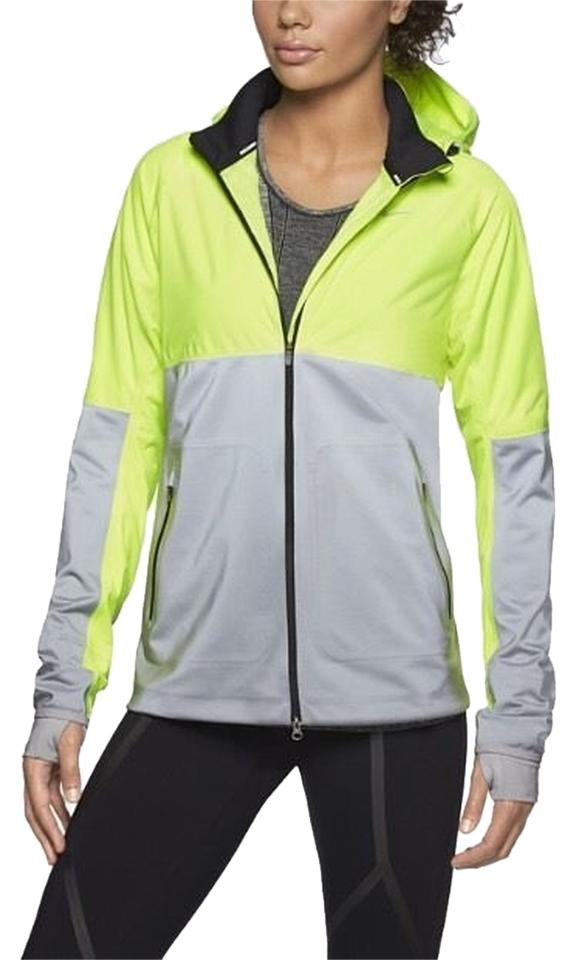 d7471a537 Nike Neon Yellow Women s Shield Flash Reflective Running Activewear  Outerwear