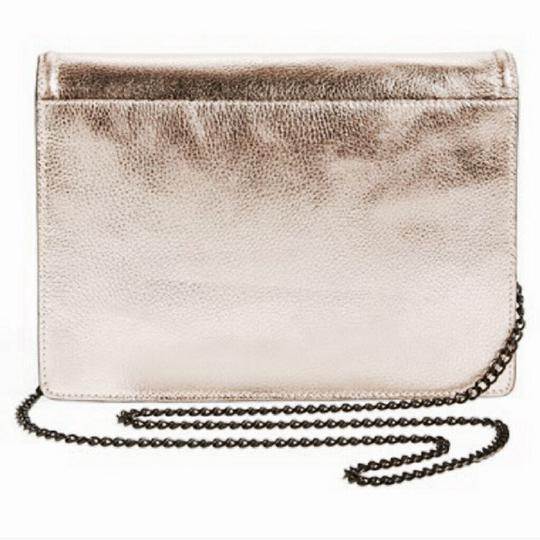 Loeffler Randall Classic Metallic Hardware Metallic Cross Body Bag