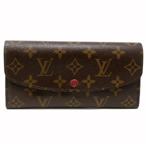 Louis Vuitton Louis Vuitton Monogram Emily Luxury Scarlet Red Long Wallet Rouge