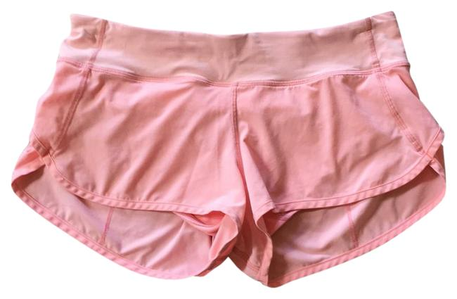Lululemon Light Pink Peach Activewear Bottoms Size 6 S Tradesy