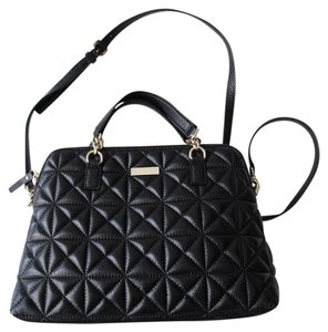 58d50179da Added to Shopping Bag. Kate Spade Bags Rachelle Quilted Quilted Leather  Satchel in Black. Kate Spade Whitaker Place Small ...