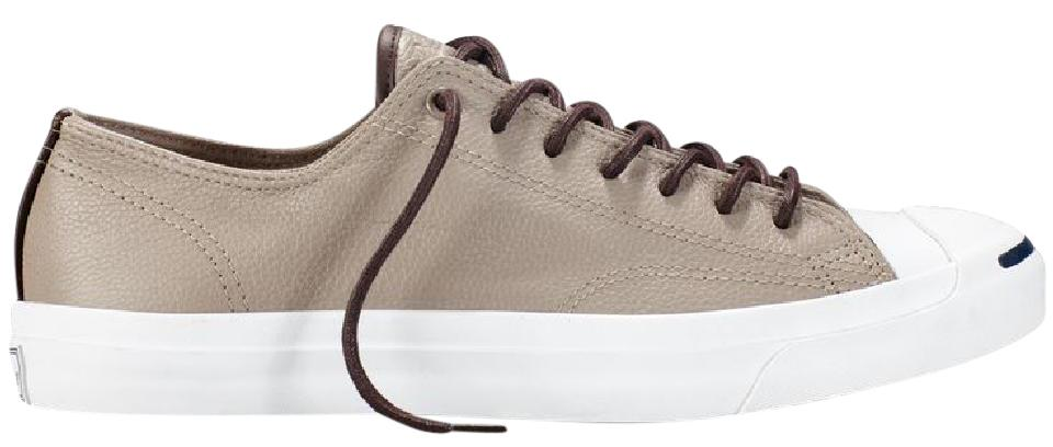 13d84825f9b Converse Malt   Burnt Umber Jack Purcell Jack Ox In Tumbled Leather  Sneakers Size US 9 Regular (M