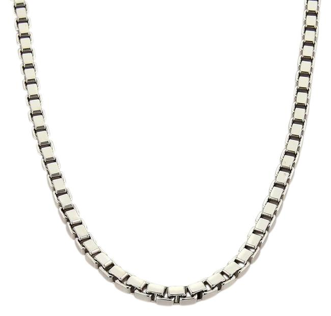 Item - #30737 Box 18k White Gold Heavy Link Chain 35.8 Grams Necklace