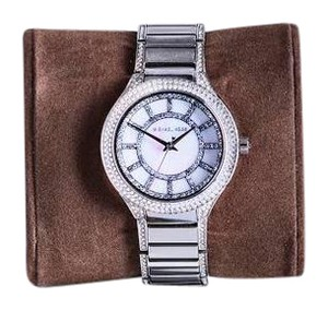 Michael Kors Silver Michael Kors watch with stones