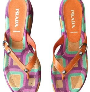 Prada Multicolor Sandals