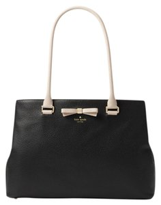 Kate Spade Henderson Street Maryanne Black/Pumice Pebbled Leather Shoulder Bag