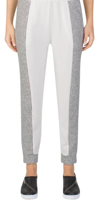 Item - White/Light Heather Gray Uas Motion Activewear Bottoms Size 4 (S)