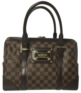 Louis Vuitton Berkeley Damier Damier Ebene Berkeley Speedy Neverfull Satchel in Brown