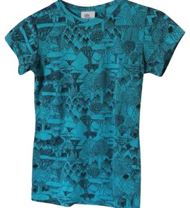 Urban Outfitters Graphic Wild T Shirt teal