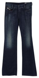 Diesel Stretch Boot Cut Jeans-Dark Rinse