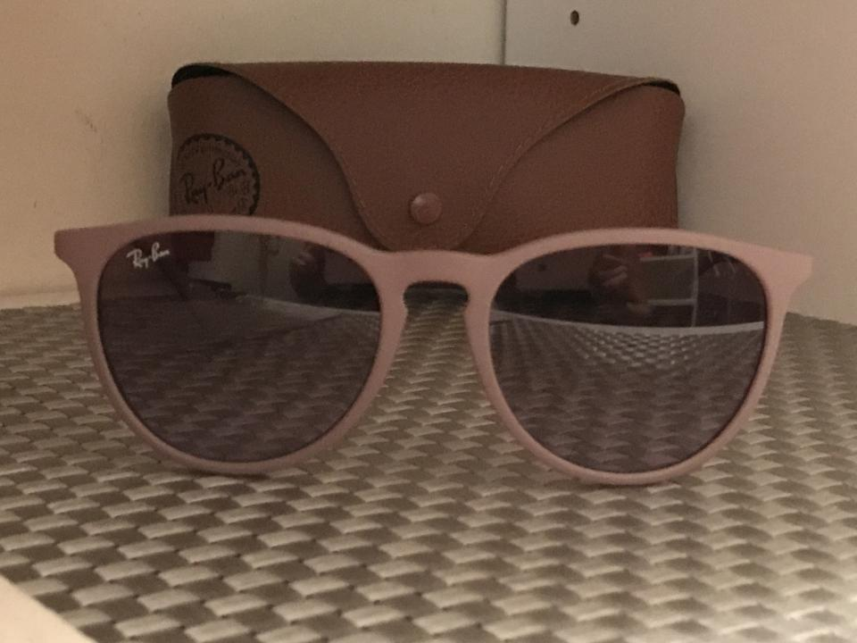 65e097534f Ray-Ban Brown  Silver  Brown-violet Gradient Lenses Erika Classic Rb4171  600068 54-18 Sunglasses - Tradesy