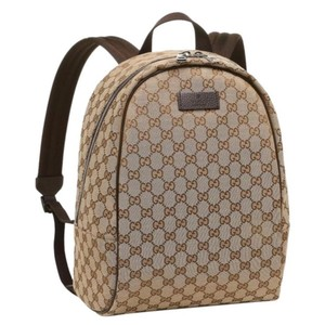 3155c4bc97c2 Gucci Backpack. Gucci Gg Canvas Backpack
