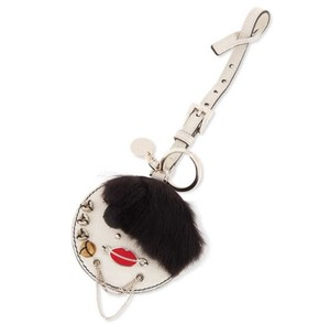 Prada NEW! Robot Lady Charm with Mirror Made in Italy