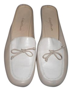 Cole Haan beige/ivory Mules