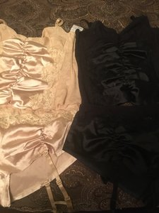 Frederick's of Hollywood Black/Beige Lingerie