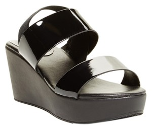 Charles David Summer Spring Casual Black Wedges