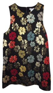 Cooperative short dress Black/multi Sleeveless on Tradesy