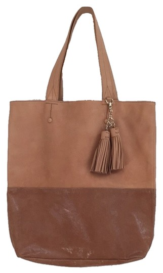 Ann Taylor Tote in Tan