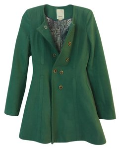 Elevenses Fit And Flare Fall Green Jacket