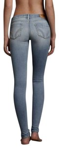 Hollister Denim Long Sexy Skinny Jeans-Light Wash