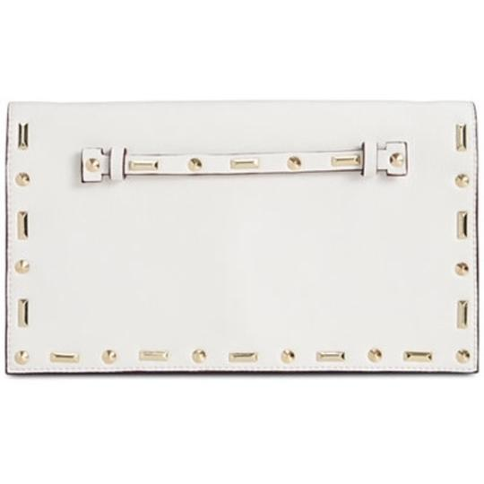 INC International Concepts Crossbody Convertible white Clutch Image 1