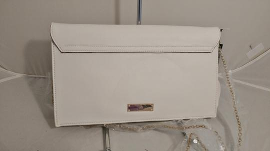 INC International Concepts Crossbody Convertible white Clutch Image 2