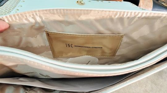 INC International Concepts Crossbody Convertible white Clutch Image 4