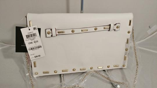 INC International Concepts Crossbody Convertible white Clutch Image 5