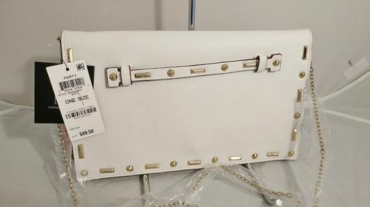 INC International Concepts Crossbody Convertible white Clutch Image 6