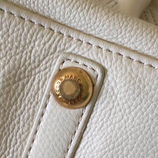 Marc by Marc Jacobs Satchel in Cream Image 10