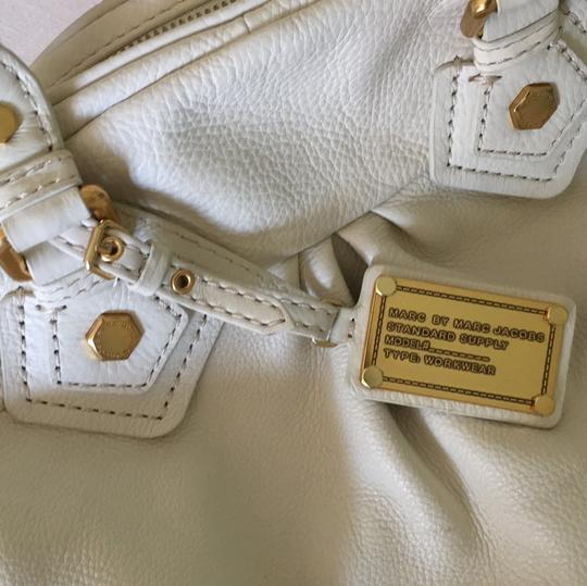 Marc by Marc Jacobs Satchel in Cream Image 11