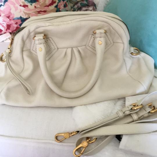 Marc by Marc Jacobs Satchel in Cream Image 5