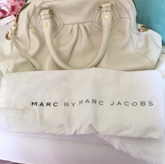 Marc by Marc Jacobs Satchel in Cream Image 6