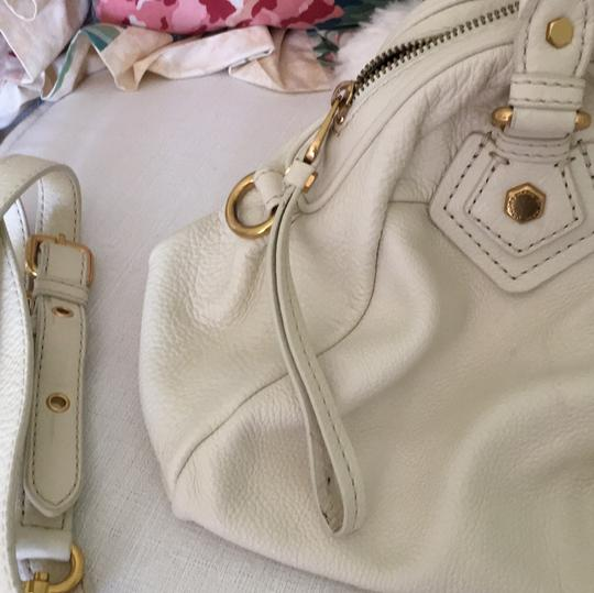 Marc by Marc Jacobs Satchel in Cream Image 7