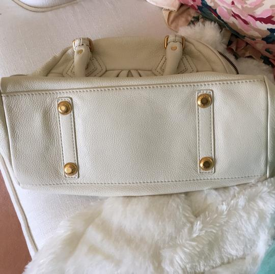 Marc by Marc Jacobs Satchel in Cream Image 9