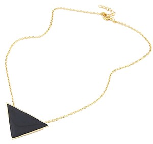 Other Triangle Bib Style Necklace