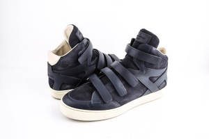 Louis Vuitton * Strap High Top Suede Sneakers Shoes