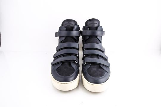 Louis Vuitton * Strap High Top Suede Sneakers Shoes Image 1
