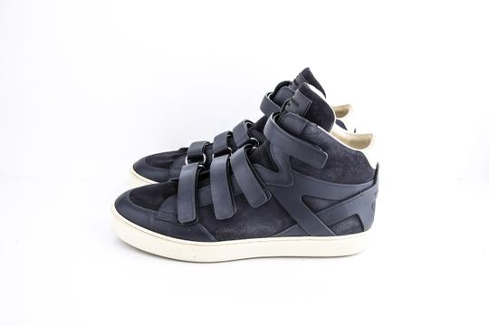 Louis Vuitton * Strap High Top Suede Sneakers Shoes Image 2