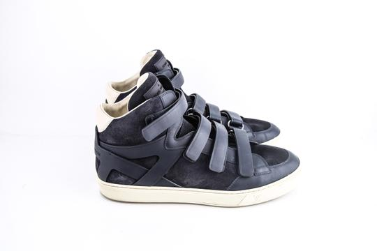 Louis Vuitton * Strap High Top Suede Sneakers Shoes Image 3