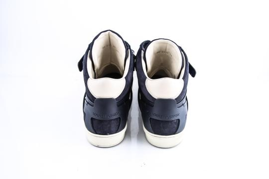 Louis Vuitton * Strap High Top Suede Sneakers Shoes Image 4