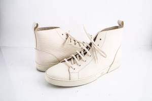 Louis Vuitton * Epi Hi Top Sneaker Cream Shoes
