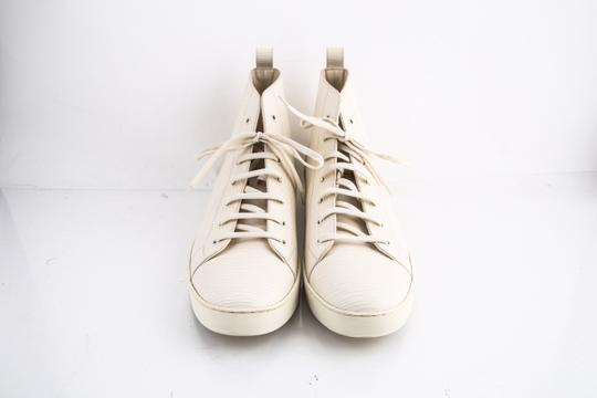 Louis Vuitton * Epi Hi Top Sneaker Cream Shoes Image 1
