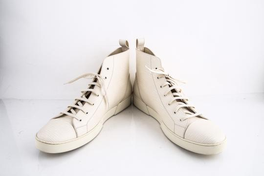 Louis Vuitton * Epi Hi Top Sneaker Cream Shoes Image 5