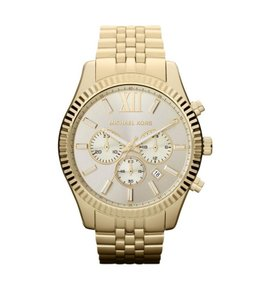 Michael Kors Michael Kors Lexington Chronograph Champagne Dial Men's Watch MK8281